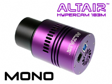 Altair Hypercam 183M PRO 20mp Mono Astronomy Imaging Camera Fan-cooled 4GB DDR3 RAM